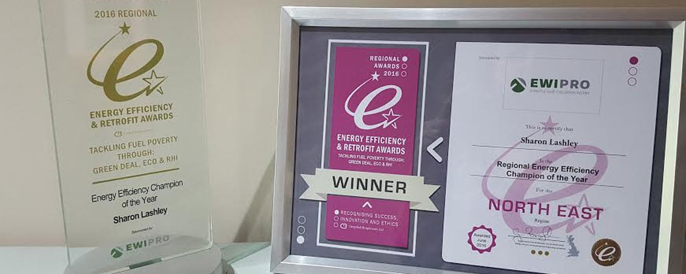 ENERGY EFFICIENCY CHAMPION OF THE YEAR!