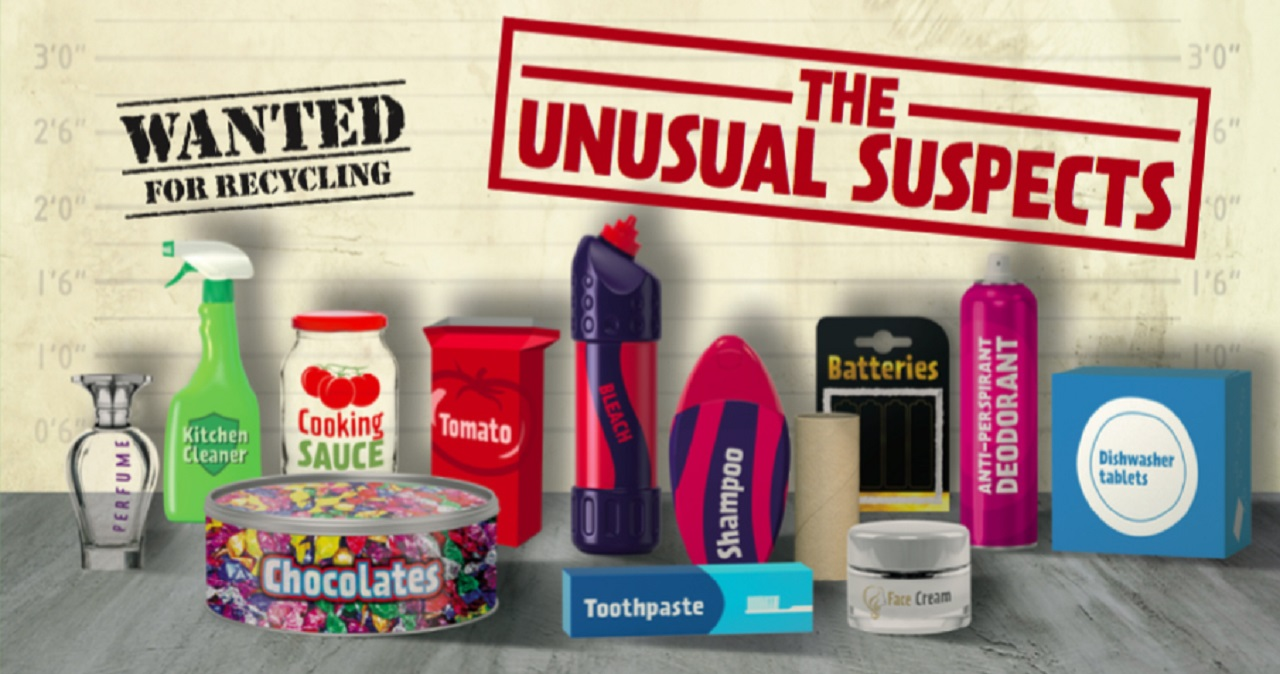 The Unusual Suspects Recycle Week Event